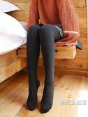(限時88折)棉褲女冬季刷毛加厚打底褲女外穿顯瘦豎條螺紋大碼高腰保暖褲連襪