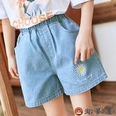 女童牛仔短褲外穿兒童褲子夏季薄款寶寶童裝【淘夢屋】
