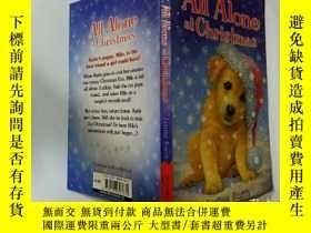 二手書博民逛書店All罕見Alone at Christmas:獨自一人過聖誕節Y200392