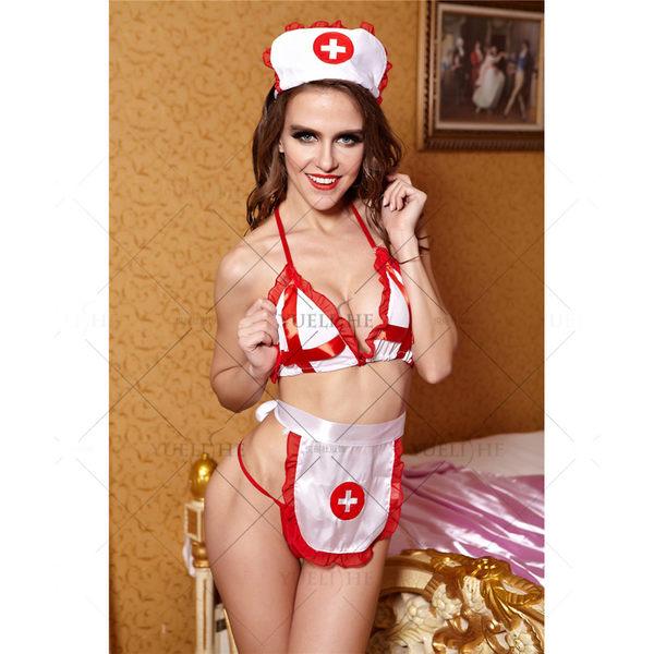 ♥♥衣美姬♥致命溫柔!角色扮演 護士裝 夜晚情趣套裝 制服誘惑 派對酒店必備 小護士戰袍