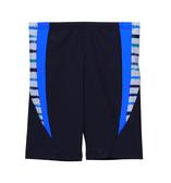 【 APPLE 】蘋果牌泳裝降價↘特賣~男童深藍色搭藍.白配橫條馬褲 NO.109208