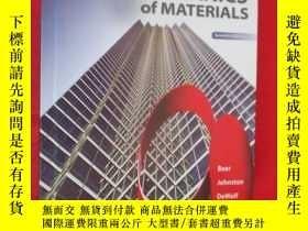 二手書博民逛書店Mechanics罕見of Materials (硬精裝) 【詳