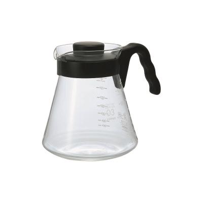 HARIO~V60 VCS-03B 耐熱咖啡壺1000ml/個 (2~8杯用)