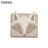 FOSSIL MINI WALLE 狐狸RFID拉鍊短夾