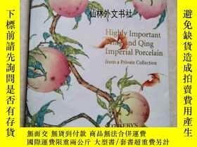 二手書博民逛書店【罕見】1997年明朝和清朝瓷器非常重要的私人收藏 Highly
