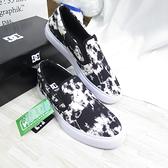 DC MANUAL SLIP 男款 滑板鞋 懶人鞋 運動休閒鞋 300676BW8 黑白渲染【iSport愛運動】