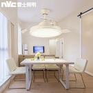 吊燈扇雷士照明風扇吊燈客廳餐廳臥室家用風扇燈簡約現代隱形電扇燈具完美