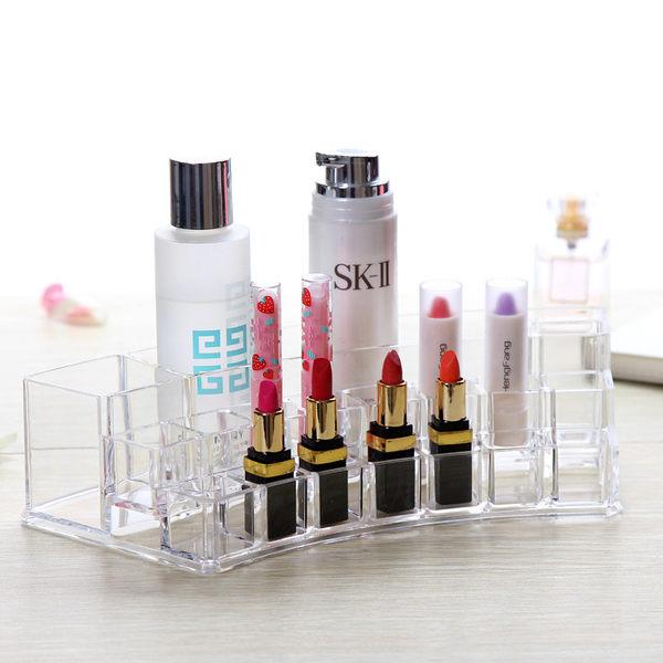 生活用品 壓克力三層收納架 口紅 唇膏 化妝品收納【生活Go簡單】現貨販售【EKL0007】