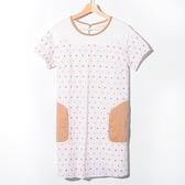 【Dailo】刺繡水玉點點洋裝-3色
