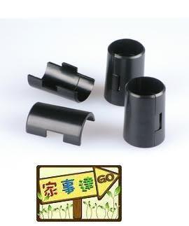 [ 家事達 ] 鍍鉻層架專用--六分管專用 夾片8入 (4對): DL-142 特價