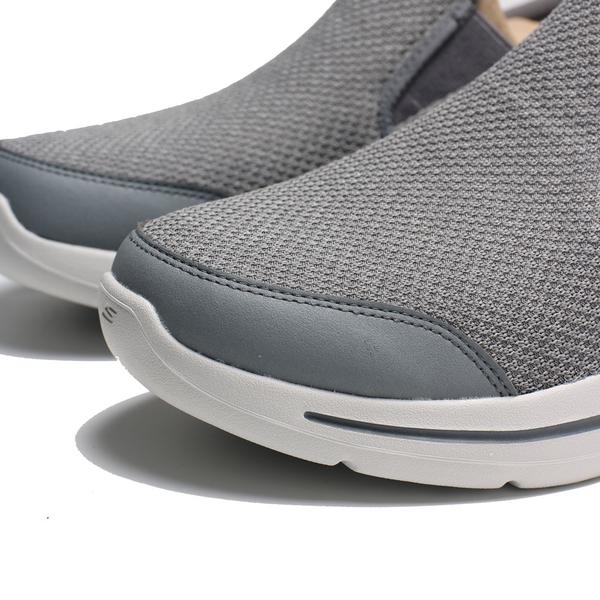 SKECHERS 健走鞋 ARCH FIT-GOOD MAN 醫生推薦 足弓支撐 灰色 男 (布魯克林) 216183CCNV