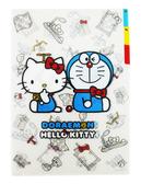 【卡漫城】L 字型3 層資料夾㊣版凱蒂貓哆啦A 夢聯名Hello Kitty 小叮噹文件夾檔案夾 製