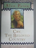 【書寶二手書T7/原文小說_LOU】Cry, the Beloved Country_Paton, Alan