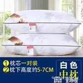 枕芯 一對裝】枕頭枕芯一對羽絲絨護頸椎枕單人成人學生可水洗軟枕 童趣屋