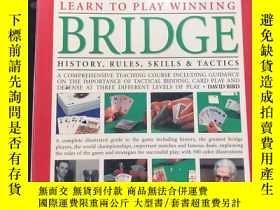 二手書博民逛書店learn罕見to play winning bridge hi