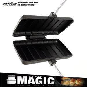 【MAGIC】炙燒雙份鬆餅夾烘烤夾三明治夾烤派夾野炊休閒戶外露營推薦哪裡買專賣店特賣會便宜