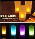聲控七彩蠟燭燈/led蠟燭燈/聲控蠟燭燈/電子蠟燭燈