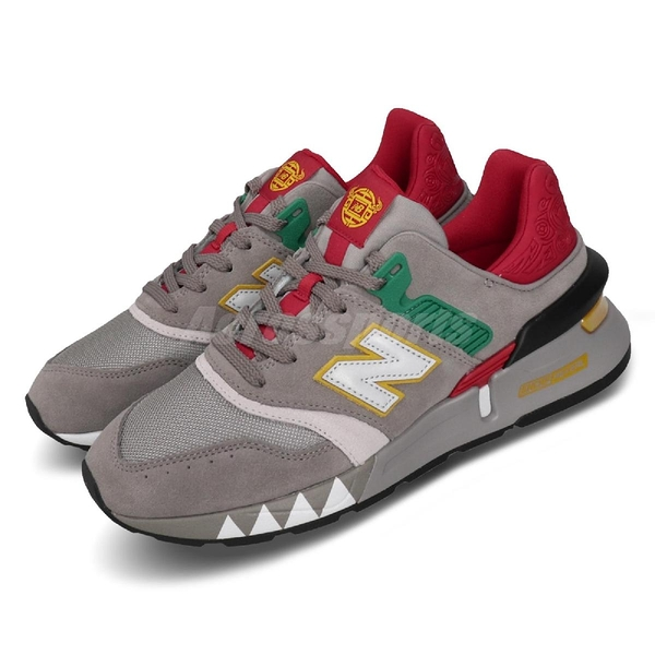 New Balance 休閒鞋 NB 997S CNY 灰 紅 男鞋 運動鞋 【PUMP306】 MS997XZD