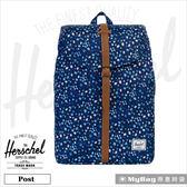 Herschel 後背包 迷你花卉  束口設計13吋筆電後背包 Post-1583  MyBag得意時袋
