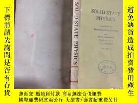 二手書博民逛書店SOLID罕見STATE PHYSICS固體物理學第32卷(英文