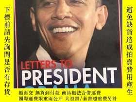 二手書博民逛書店Letters罕見to President Obama: Ame
