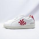 Royal 無鞋帶 休閒鞋 皮革 公司貨 91792019 女款 白紅【iSport愛運動】