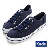 KEDS -KICKSTART 經典帆布鞋-海軍藍