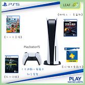 現貨 Sony Play Station 5 PS5主機 光碟版 三片遊戲光碟 死亡回歸、蜘蛛人麥爾斯、小小大冒險 + 會籍卡