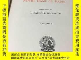 二手書博民逛書店【罕見】1892年巴黎聖母院Y171274 VICTOR HUG