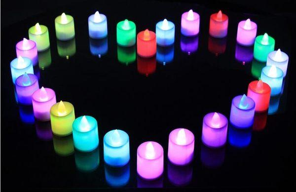 電子蠟燭燈浪漫聖誕節LED蠟燭無煙求婚告白道具婚慶錶白生日佈置     非凡小鋪