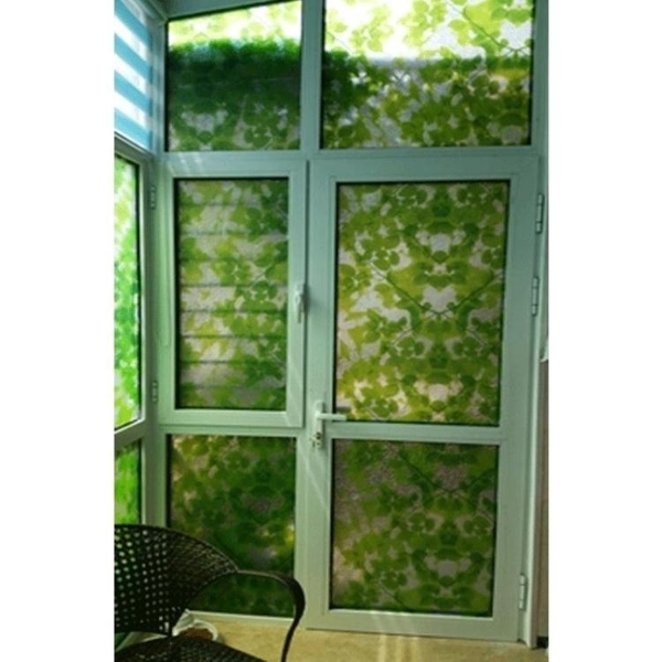 窗貼 窗紙窗貼靜電貼彩色玻璃貼紙移門貼紙陽台玻璃窗戶貼紙透光不透明 萬寶屋