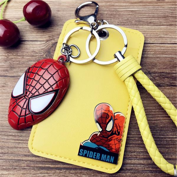 超級英雄 蜘蛛人 鋼鐵人 美國隊長 浩克 工作證卡套 公車悠遊卡套 收納套 PU皮卡套 學生 公車 捷運