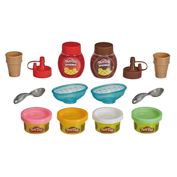 培樂多黏土Play-Doh 雙醬冰淇淋遊戲組(輕便版)