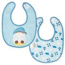日本 迪士尼 Disney 唐老鴨雙面口水巾/圍兜