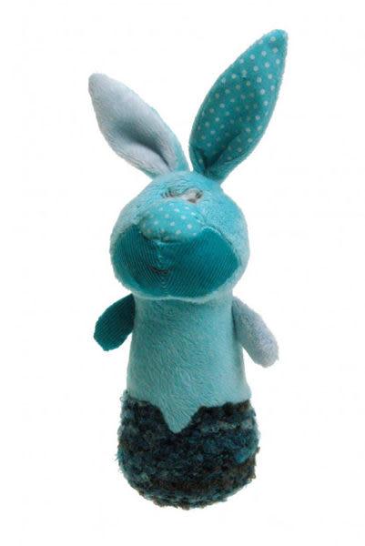 手搖鈴-粉彩兔寶寶 15cm【Les Petites Marie】