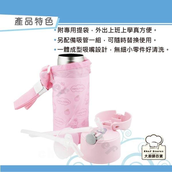 膳魔師兒童水壺保溫杯冰雪奇緣汽車總動員保冷瓶360ml附吸管提袋-大廚師百貨