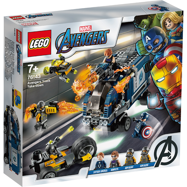 樂高 LEGO 76143 Avengers Truck Take-down