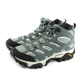 MERRELL MOAB 2 MID GTX 運動鞋 健行鞋 灰色 黃金大底 女鞋 ML033270 no081