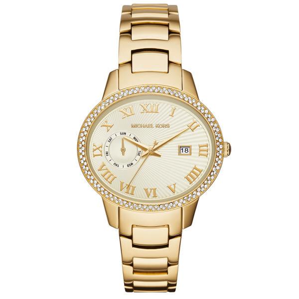 Michael Kors 古典韻味時尚腕錶-金
