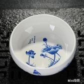 大號陶瓷茶洗青花瓷筆洗功夫茶具茶道配件OU1771『miss洛羽』