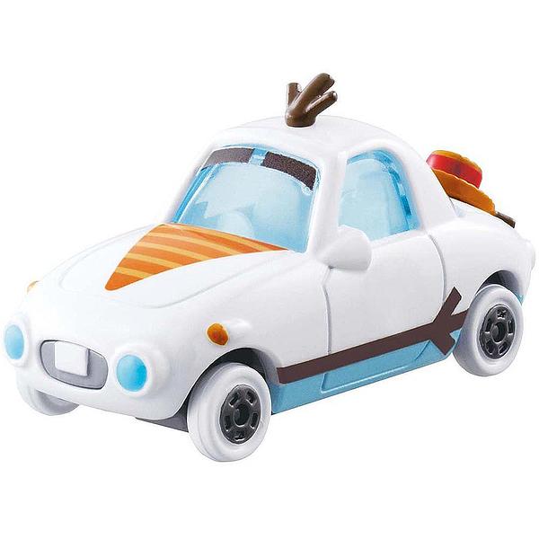TOMICA 迪士尼小汽車 冰雪奇緣雪寶夢幻小車