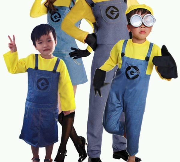 衣童趣♥小小兵 可愛造型 兒童男女款 角色扮演服 親子小黃人 萬聖節必備 派對表演服