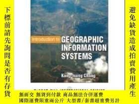二手書博民逛書店Introduction罕見To Geographic Information Systems With Data