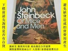 二手書博民逛書店John罕見steinbeck of mice and men(