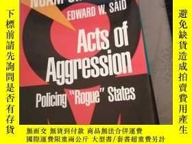 二手書博民逛書店Acts罕見of Aggression: Policing Ro