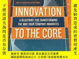 二手書博民逛書店innovation罕見to the core: a blueprint for transforming the