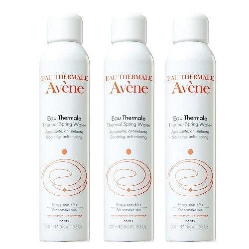 Avene 雅漾 舒護活泉水 300mlx3 加贈 黑人 專業護齦抗敏感 牙膏 120g