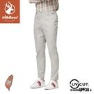 【Wildland 荒野 男 彈性抗UV修身長褲《淺灰》】0A91306/休閒長褲/薄長褲/防曬褲