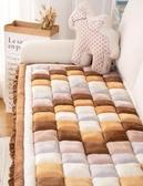 韓式出口韓國毛絨饅頭沙發墊四季通用防滑加厚客廳套巾罩可機洗