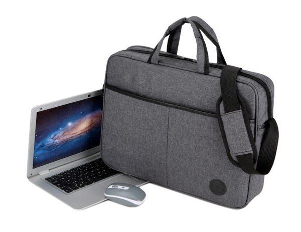 【免運】筆電包戴爾電腦包14寸15.6英寸筆記本包男女式肩背包手提包簡約商務公文包